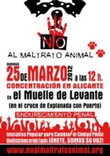 ¡Alicante dice NO al maltrato animal!